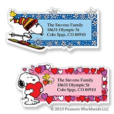 Shop Holiday Labels at Colorful Images