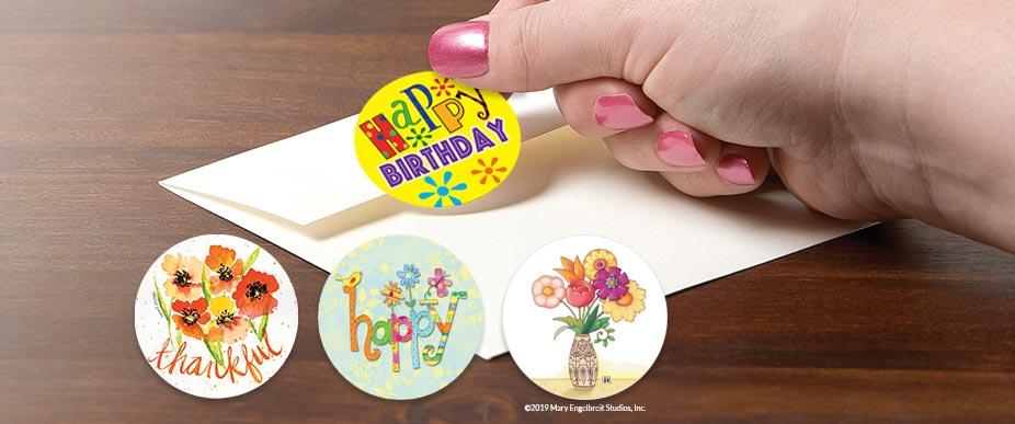Custom Labels, Custom Printed Labels | Colorful Images
