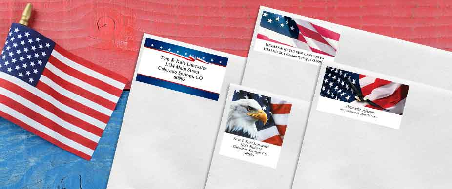Shop Fourth of July Labels at Colorful Images