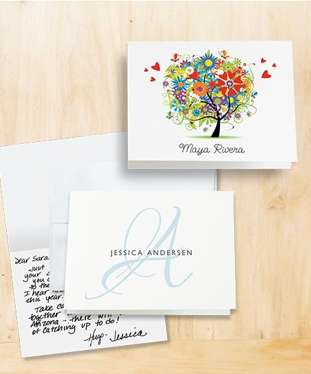 Shop Personalized Stationery at Colorful Images