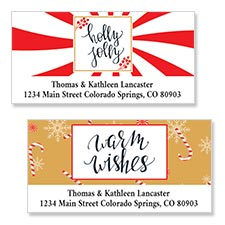 Shop Christmas Labels at Colorful Images