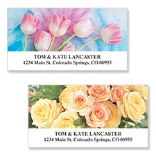 Shop Floral & Gardening Labels at Colorful Images