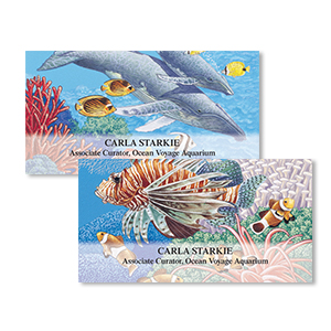 Shop Marine Life Labels at Colorful Images