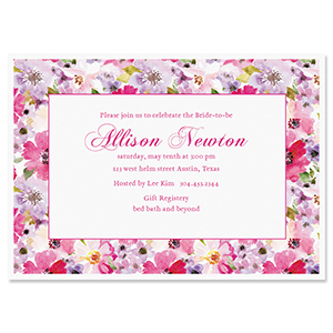 Shop Personalized Invitations at Colorful Images