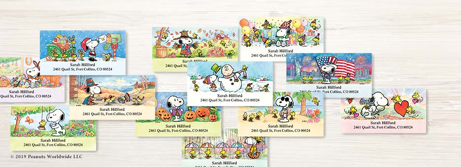 Shop Year Round LAbels Labels at Colorful Images