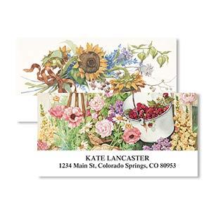 Shop Floral & Gardening Labels at Colorful Images