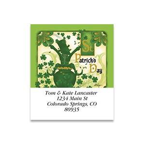 Shop St. Patricks Labels at Colorful Images