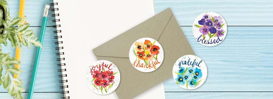 Shop Envelope Seals at Colorful Images