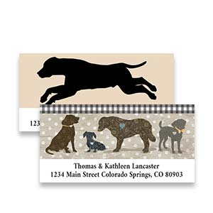 Shop Dog Labels at Colorful Images