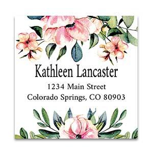 Shop Large Square Labels at Colorful Images