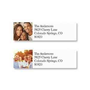 Shop Photo Address Labels at Colorful Images