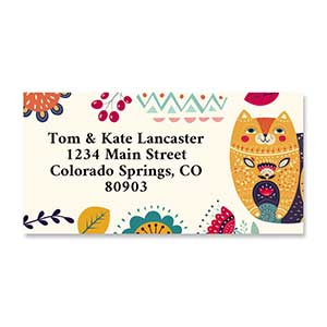 Shop Border Labels at Colorful Images