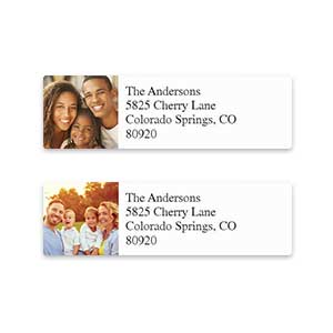 Shop Photo Address Labels at Colorful Images