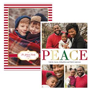 Shop Photo Christmas Cards at Colorful Images