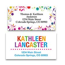 30 Custom Easter Bunny Art Personalized Address Labels
