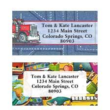 Shop Professions Labels at Colorful Images