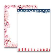 Shop Letter Stationery at Colorful Images