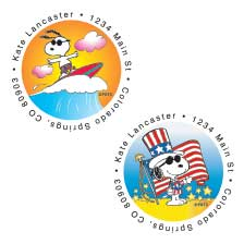Shop Year Round Labels at Colorful Images