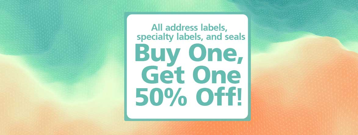Shop Address Labels Buy 1 set and Get your second set 50% off at Colorful Images