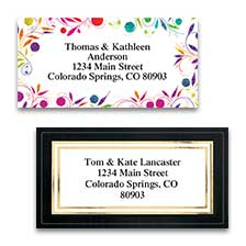 Art & Graphic Labels at Colorful Images