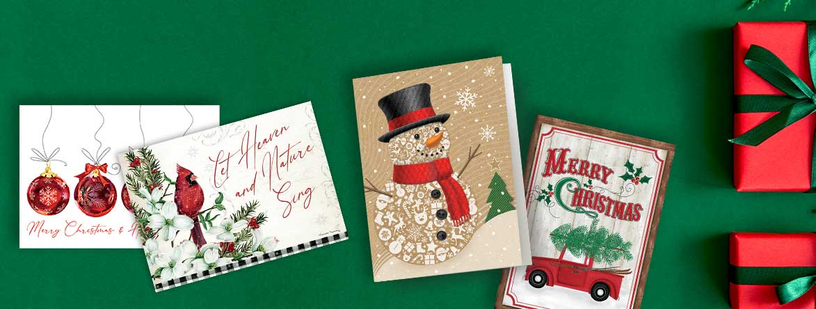 Shop Christmas Cards and get your second set 50% off at Colorful Images